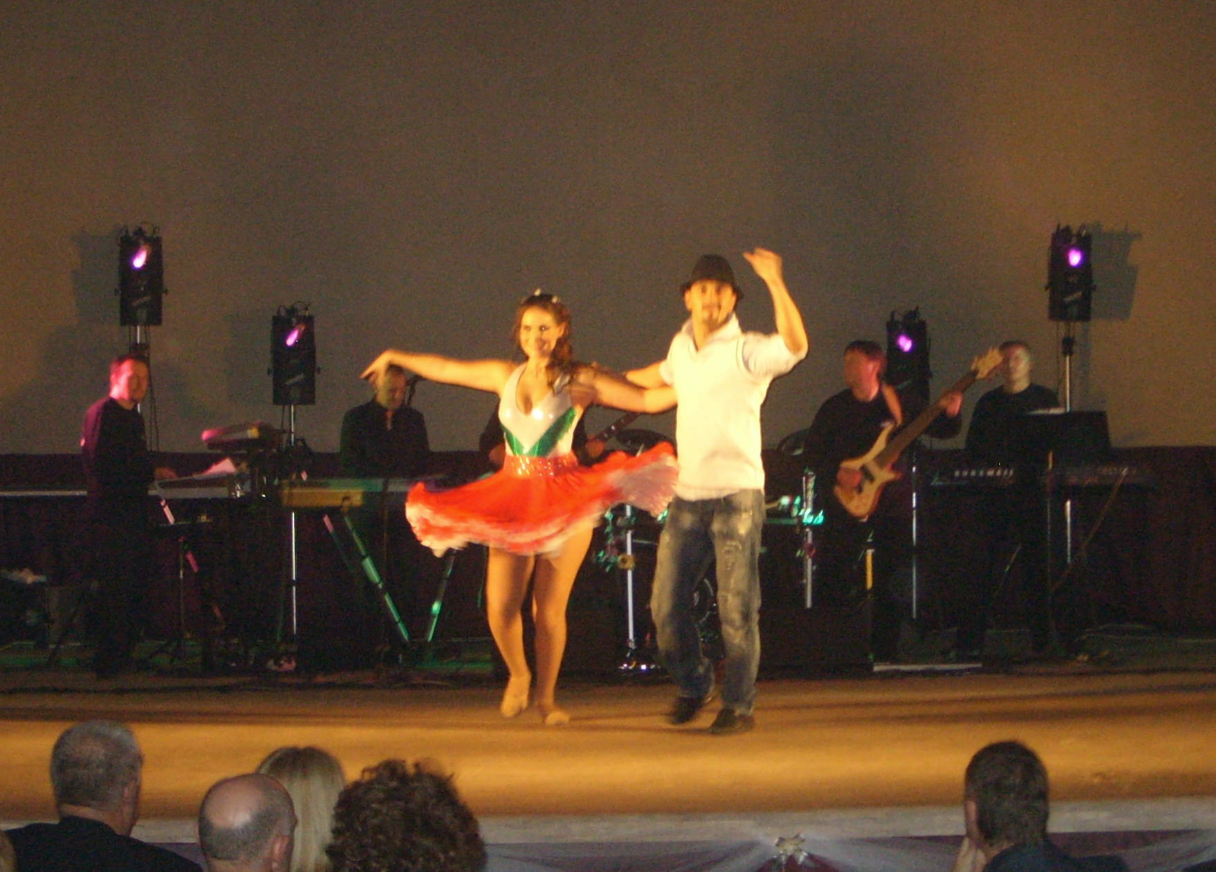 """Hungarian dance during the performance of """"XVIth Century of Hungary"""""""