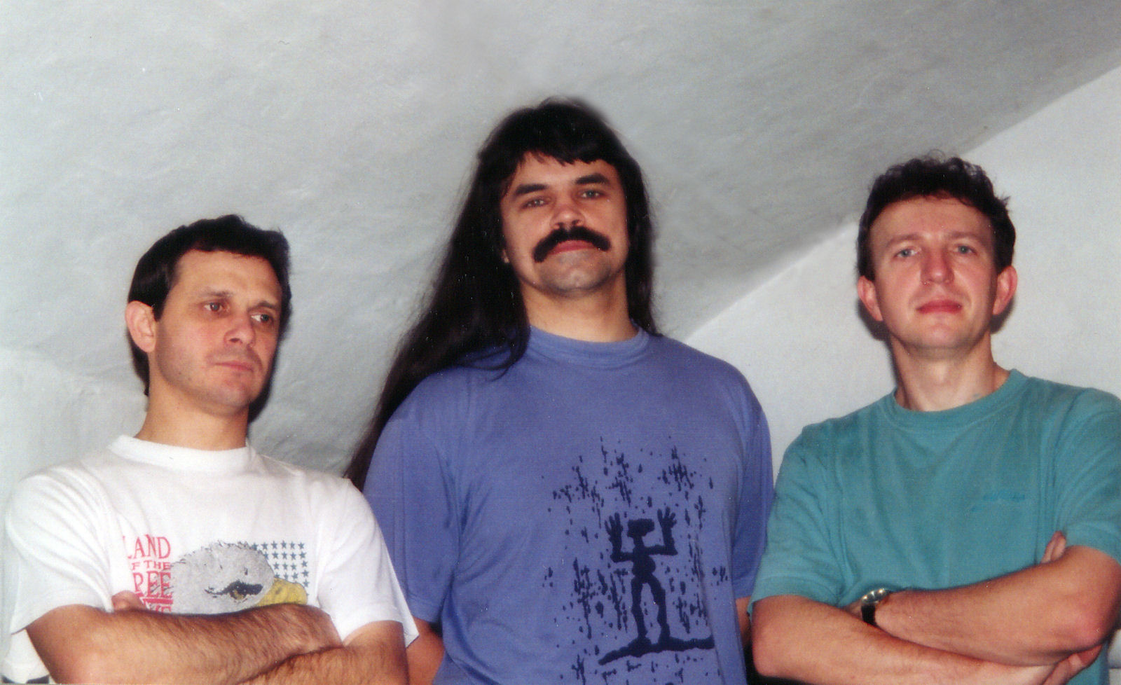 Android trio in 1995